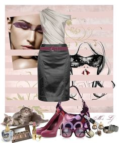 Smokey Dusk, created by ms-lj on Polyvore