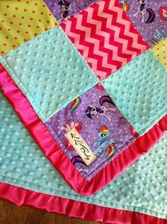 My Little Pony Blanket by KLBaby on Etsy, $50.00