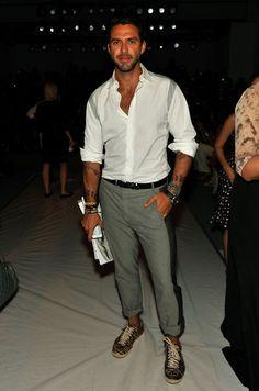 Lorenzo Martone : love this casual chic style !