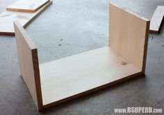 DIY Wood Crate - B Superb. Small Wooden Crates, Diy Wooden Crate, Wood Crates, Wood Projects, Woodworking Projects, Sandpaper, Minwax, Dark Walnut, Build Your Own