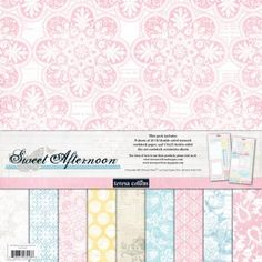 12x12 paper theresa collins sweet afternoon by MustHaveCrafts for $9.00