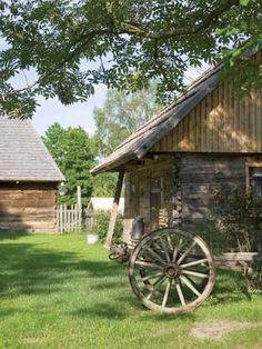 Chata na Polesiu - siedlisko pachnące żywicą : Weranda Country
