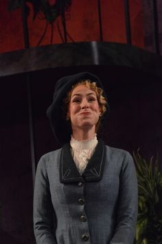Elyse Price at the Pygmalion dress rehearsal. Photo by Jay Yamada.