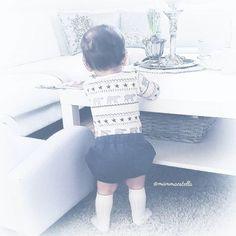 Baby bloomer shorts  #hjemmesydd #sydilla #babybloomer #shorts #vår #sommer #ss16 #summer #spring #boy #happy #mammalykke #hustandclaire #knestrømper #cute #babybum