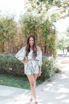 My Favorite Weekend Look: Rompers - Tamera Mowry Hard Working Women, Tamera Mowry, Weekend Style, Cute Summer Outfits, Fashion Forward, My Girl, Rompers, Street Style, Style Inspiration