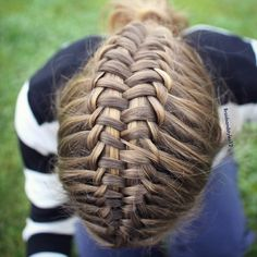 Suspended Infinity Braid by me Braidsandstyles12, Click below for a  Tutorial :  http://youtu.be/ml2TSRai_go