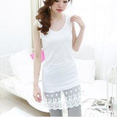 Buy 'Jolly Club – Lace-Hem Tank Top ' with Free International Shipping at YesStyle.com. Browse and shop for thousands of Asian fashion items from China and more!