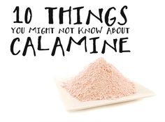10 fun facts you might not know about calamine, on the LUSH blog!