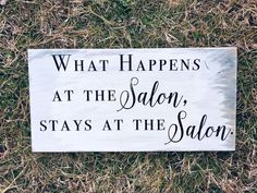 Hairstylist Quotes, Cosmetology Quotes, Country Christmas Ornaments, Christmas Gifts, Salon Signs, Hair Stylist Gifts, Window Glass Design, Salon Promotions, Beauty Salon Decor