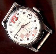 Rare Vintage Russian USSR Pobeda mecanical 2602 watch № 103328 #Pobeda