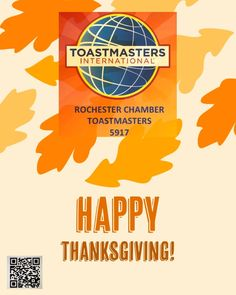 Happy Thanksgiving to you & yours from Rochester Chamber #Toastmasters #d6tm #rochester_mn #rochestermnchamber #minnesotas_rochester #becauserochester #dmcmn #thanksgiving