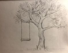 tree pencil drawing - Google Search                                                                                                                                                                                 More