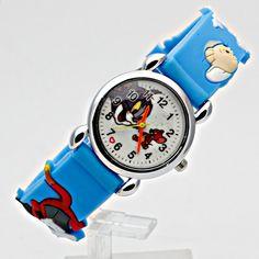 Móda Děti Cartoon Kočka a myš Neformální Děti Hodinky Quartz Náramkové  hodinky Jelly Kids Hodiny chlapci Hodiny dívky Studenti. Online Obchod c06759f119