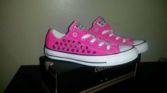 Check out this item in my Etsy shop https://www.etsy.com/listing/215175123/studded-converse