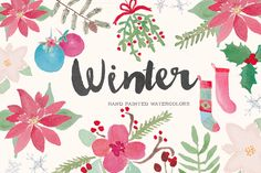 Winter Holiday Watercolor Clip Art ~ Illustrations on Creative Market Blog Design, Free Design, Texture Web, Design Typography, Photoshop, Pencil Illustration, Art Illustrations, Free Graphics, Creative Sketches