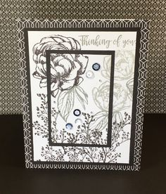 Show and Tell, with Michelle: Color Dare #176 Greys with Black and White