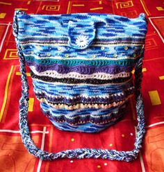 Háčkovaný vak (kabelka)
