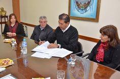 #Dos municipios firmaron el convenio para ser municipios saludables - San Juan 8: San Juan 8 Dos municipios firmaron el convenio para ser…
