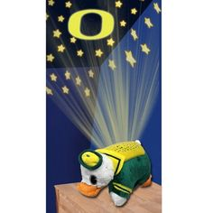 NCAA Oregon Ducks Dream Lite Pillow Pet by Fabrique Innovations. $38.68. The Pillow Pets Dream Lites are the nightlite that makes bed time FUN Pillow Pet Dream Lites are the amazing nightlight that turns your room into a starry sky instantly. Simply press the button it projects a starry sky on your ceiling and walls Creates a magical and tranquil environment that helps kids ease into a restful sleep. They are even great for playtime. Built in timer shuts off after 20 minute...
