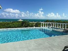 OCEANFRONT+VILLA+on+Grace+Bay+Beach.+Amazing+Views,+Pool,+4bd/4bt+++Vacation Rental in Providenciales - Provo from @homeaway! #vacation #rental #travel #homeaway