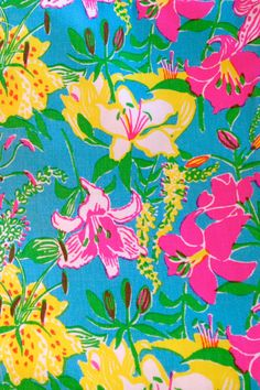 Vintage Lilly Pulitzer print