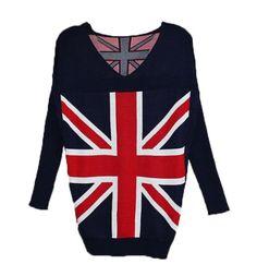 British Flag Pattern Knit Women&ladies Long Sleeve Cardigan Casual V-neck Pullover Uk Flag Sweater Sweater YingYing http://www.amazon.com/dp/B00IPQ3S9G/ref=cm_sw_r_pi_dp_X5DBvb03A4H8M