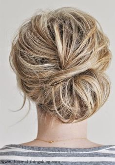 Updo Hairstyles For Short Hair To Try in 2015 Summer !
