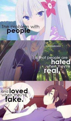Anime: OreShura...this is because people are afraid of the reality and beauty of rh