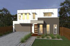 Costa Home Designs  Sunshine Coast Home Builders  ZAFFIRO232 Signature Facade