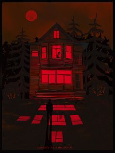 creepy houses drawing - creepy houses _ creepy houses haunted places _ creepy houses interior _ creepy houses in the woods _ creepy houses aesthetic _ creepy houses drawing _ creepy houses abandoned Creepy Art, Arte Pop, Red Aesthetic, Horror Art, Dark Art, Les Oeuvres, Aesthetic Wallpapers, Art Inspo, Art Drawings