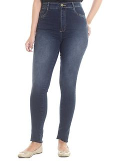 Calça Jeans Sawary Jegging Hot Pants