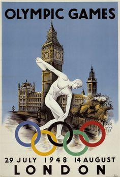 London 1948 Olympics Posters bij AllPosters.nl