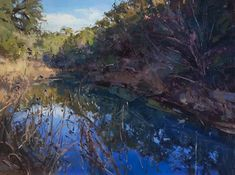 Comanche Creek by Jill Carver Oil ~ 30 x 40