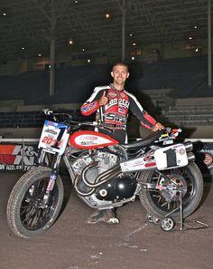 Jake Johnson, 2011 defending Grand National Champion at Pamona