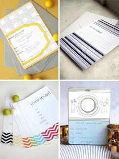 16 Different Styles of Year-Round Party Invitations - Free PDF Printables