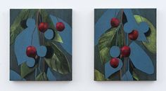 """Pair (cherries)"" by Ryan Mrozowski one of the 10 recommended #young #contemporaryartists to watch in #2017 http://bloom.bg/2hDjGrP #art"