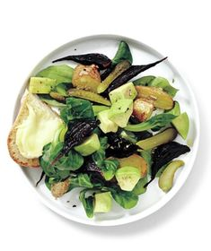 Beet, Potato, and Avocado Salad recipe from realsimple.com #myplate #vegetables