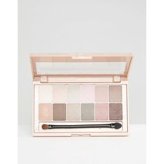 Maybelline Palette Blushed Nudes ($17) ❤ liked on Polyvore featuring beauty products, makeup, multi, travel bag, travel toiletry case, dop kit, toiletry bag and toiletry kits