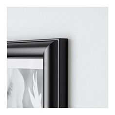 "MARIETORP Frame, black - black - 12x16 "" - IKEA"