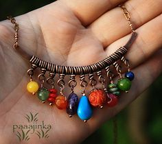 Rainbow Necklace D I Y Jennifer Cepeda