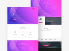 An elegant and free template that can help you create a website for different services. With a clean design, your project will look professional, so be sure to give this freebie a try.