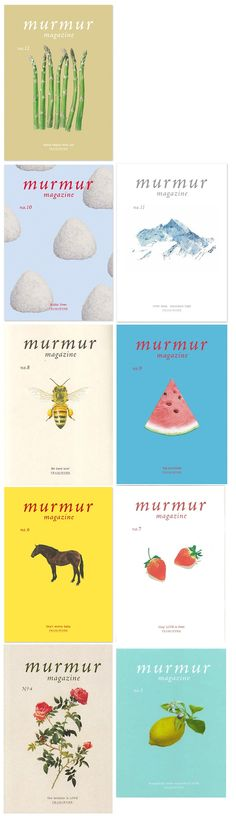 murmur magazine from Japan