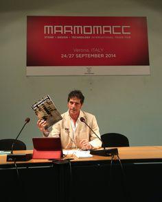 Giancarlo Fornei parla dell'importanza dei contenuti forniti da L'Informatore del Marmista -  Marmomacc 2014 - Verona