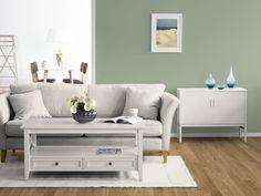 modernes wohnzimmer wandfarbe taupe parkettboden | wandfarbe ... - Taupe Wohnzimmer