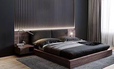 Black Bedroom Design, Master Bedroom Interior, Bedroom Closet Design, Modern Master Bedroom, Bedroom Furniture Design, Home Room Design, Bedroom Black, Master Suite, Ikea Bedroom