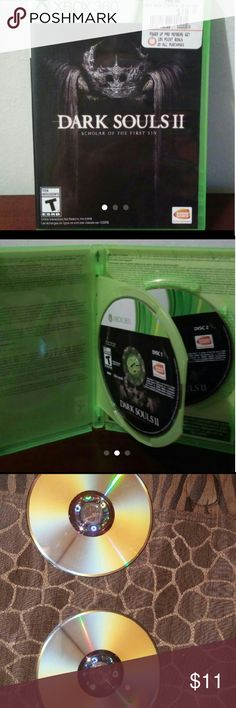 Xbox 360 game Dark souls2 Dark Souls 2 scholar of the first sin. No scratches Other
