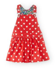 Cord Dungaree Dress 33341 Day Dresses at Boden