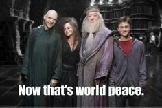 Now that's world peace