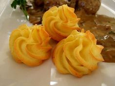Herzoginkartoffeln, ein raffiniertes Rezept aus der Kategorie Kartoffeln. Bewertungen: 73. Durchschnitt: Ø 4,3.