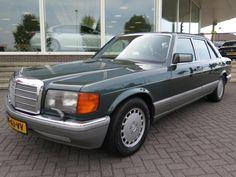 Mercedes-Benz S-Klasse 560 SEL AUT. (bj 1988, automaat) Mercedes Benz W126, Mercedes Benz Diesel, M Benz, Classic Mercedes, Mercedes Benz Cars, Motor Yacht, Motor Car, Auto Motor, Classic European Cars